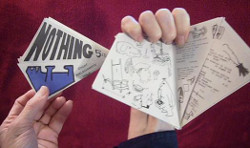 Ted Nelson's Kite-shaped Magazine, titled: 'Nothing'