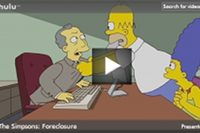 Video: Simpsons' Forclosure